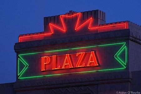 Plaza cinema stockport neon signs