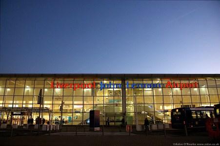 Liverpool John Lennon Airport terminal