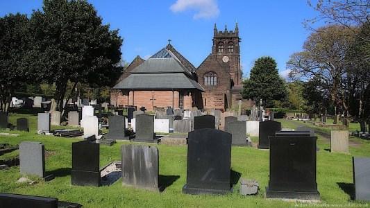 St Peter's Church rear graveyard
