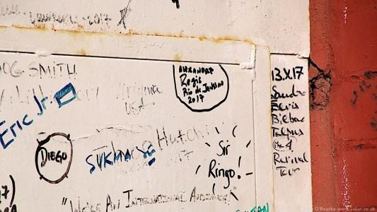 Graffiti Ringo Starr home 9 Madryn St