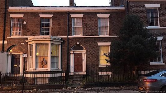 Falkner Street Liverpool, former home of John and Cynthia Lennon
