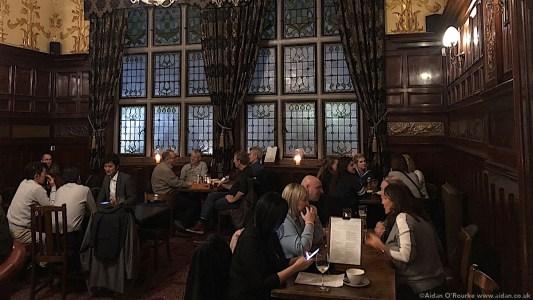 The Philharmonic Pub interior