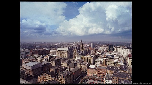 Portland Tower view of Manchester 1998