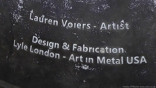 John Lennon Peace Monument Lauren Voiers - Artist