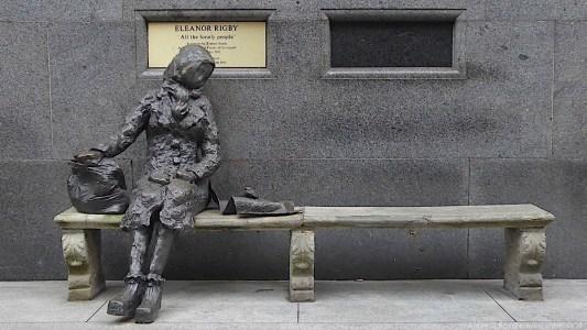 Eleanor Rigby Statue, Stanley Street