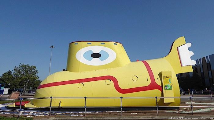 Yellow Submarine, Liverpool John Lennon Airport