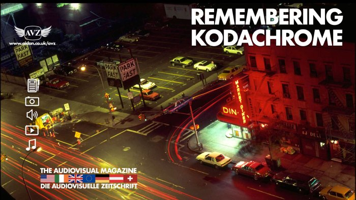 Commentary by Aidan O'Rourke - Remembering Kodachrome