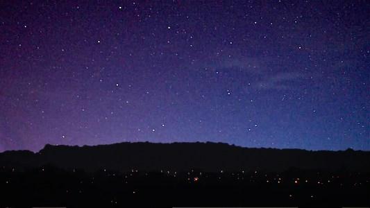 Stars over Alderney Edge Cheshire