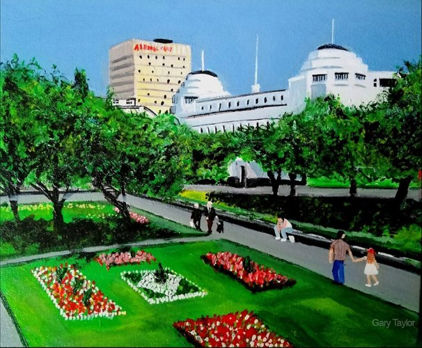 Piccadilly Gardens in the late 60s by Gary Taylor