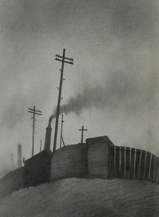 Trevor Grimshaw Ancoats drawing