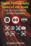 Draft cover art - Digital Photography Rules of the Road