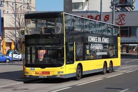 Berlin double decker bus