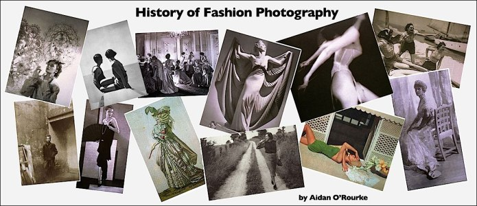 History of Fashion Photography graphic