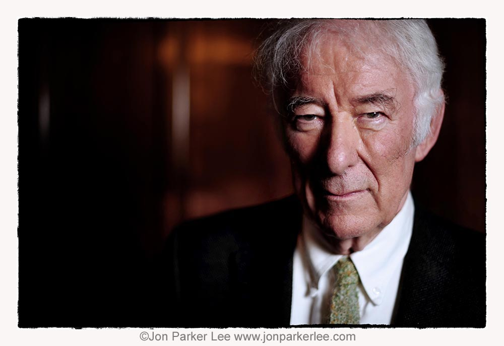 Seamus Heaney - photo by Jon Parker-Lee