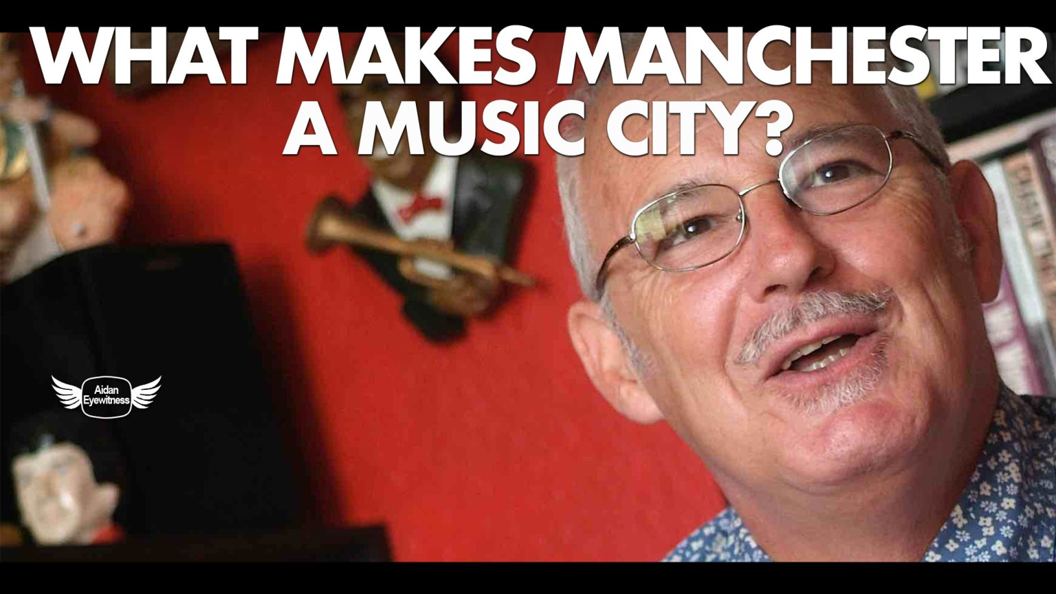 What makes Manchester a music city - Interview with CP Lee