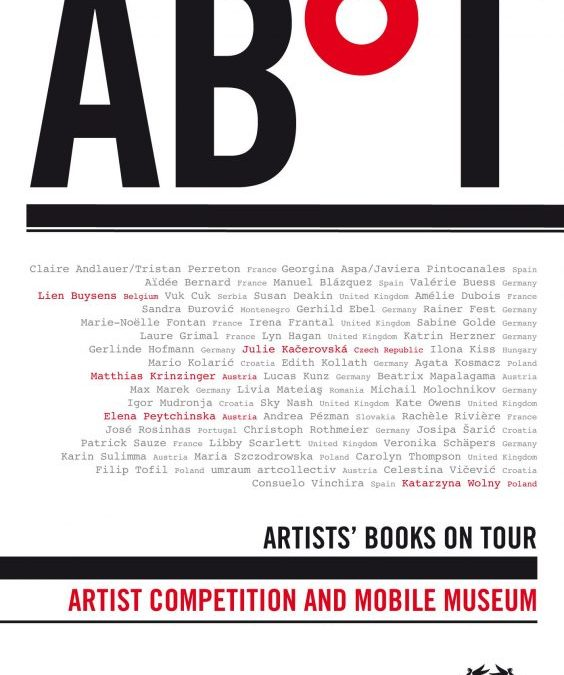 Catalogue d'exposition « Artists book on tour »