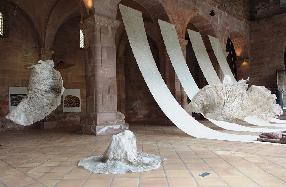 Wild paper Abbaye d'Alspach