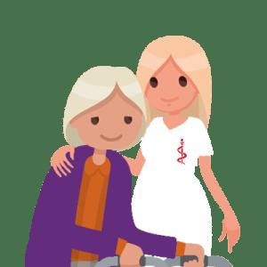 Soins infirmiers à domicile - personnes âgées - Beaujeu