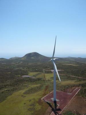 Wind Turbines in the Galapagos