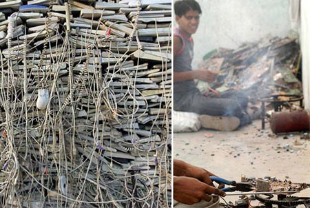 Managing e-waste in Mumbia, India