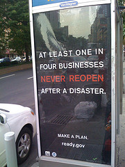 At least one in four businesses never reopens after a natural disaster