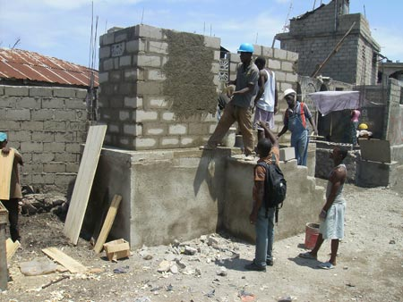 Building the toilet house