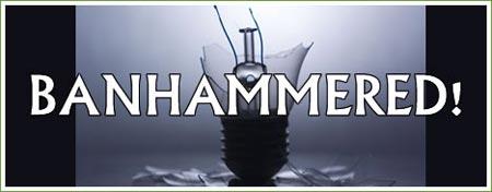 Bulb - banhammered!