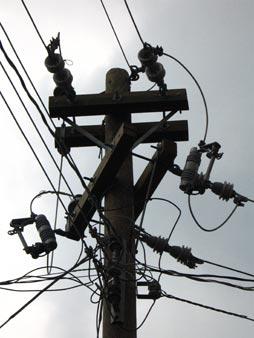 Electricity Poles by XelaTeco