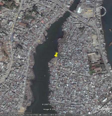 Google Earth, Shada neighborhood