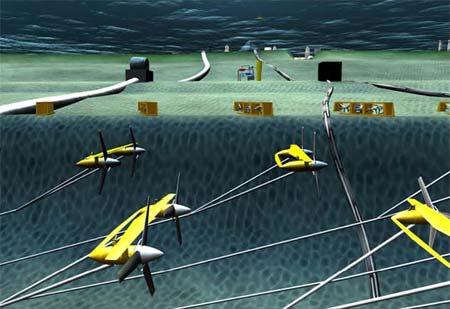 Underwater turbines to harness the Gulf Stream's energy