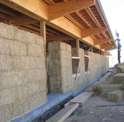 LEED Gold-certified Straw Bale Building