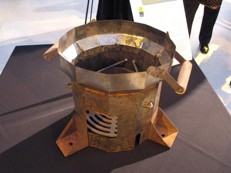 High Efficiency Cook Stove for Darfur