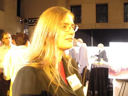 Kelydra Welcker, Winner of Next Generation Award