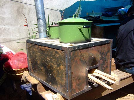 Rocket Box Stove