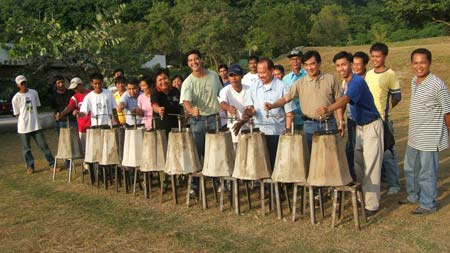 Peanut Sheller in La Union, Philippines