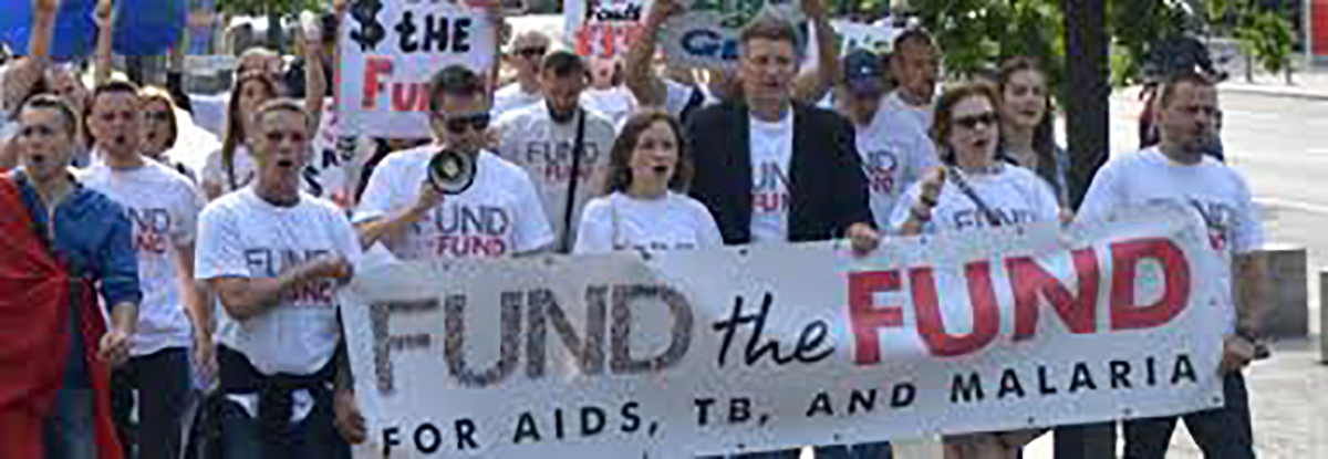"""AHF """"Fund the Fund"""" Advocates Demonstrate to Urge Chinese Action"""