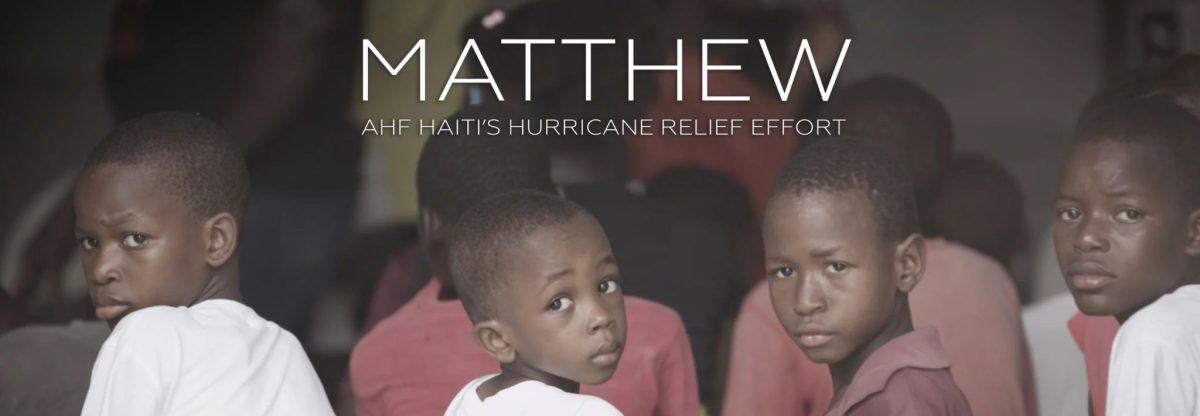 AHF Screens Hurricane Relief Doc Matthew at Silicon Beach Film Festival