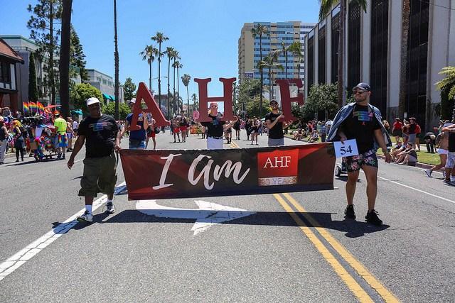 AHF Supports Long Beach Pride!