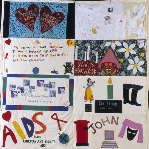 UK AIDS Memorial Quilt : memorial quilt aids - Adamdwight.com