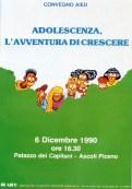 Adolescenza, l'avventura di crescere. Ascoli Piceno, 6 dicembre 1990.