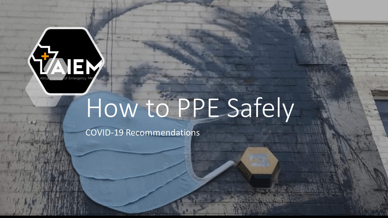 PPE Recommendations