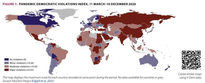 pandemic violations index