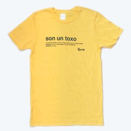 foto camisola amarela de son un toxo