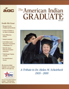 The American Indian Graduate Magazine Fall 2011