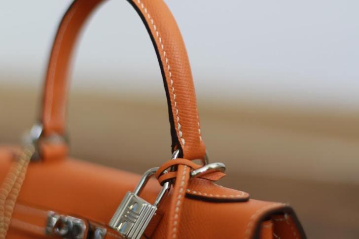 自作のエルメス風Kelly bag