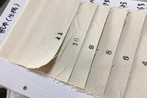 岡山の帆布