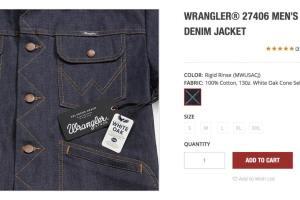 WRANGLER(ラングラー)made in USA モデル【27406コレクション】