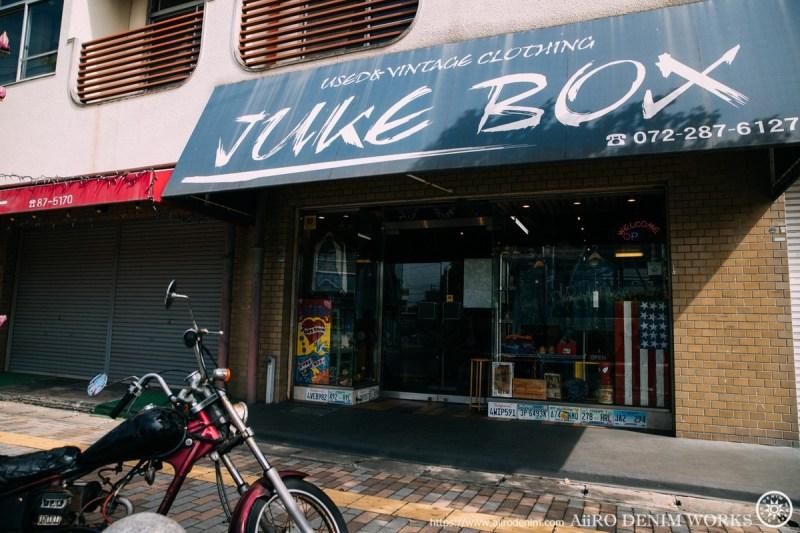 大阪のヴィンテージジーンズショップ「JUKE BOX」
