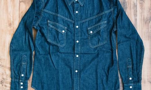 TCB デニムウエスタンシャツ RANCHMAN Shirt