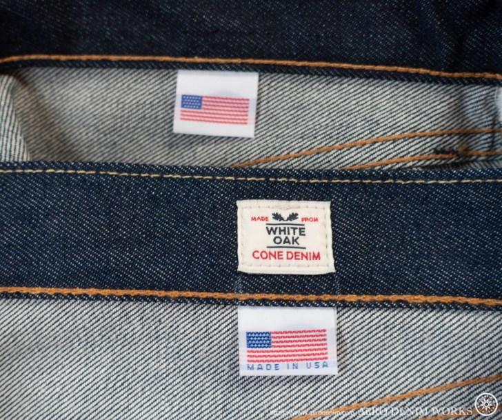 リーバイス501 made in USA 比較